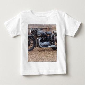 Vintages Militärmotorrad Baby T-shirt
