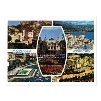 Vintages Monaco, Monte Carlo Multiview Postkarte