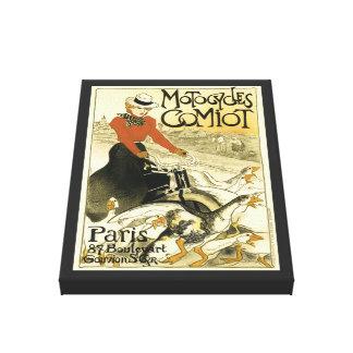 Vintages Motocycles Comiot Leinwanddruck