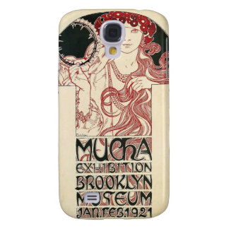 Vintages Mucha Ausstellungs-Brooklyn-Plakat Galaxy S4 Hülle