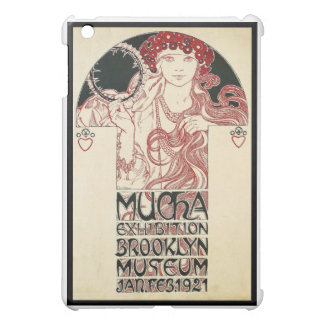 Vintages Mucha Ausstellungs-Brooklyn-Plakat iPad Mini Hülle