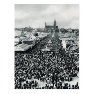 Vintages München, Oktoberfest Postkarte