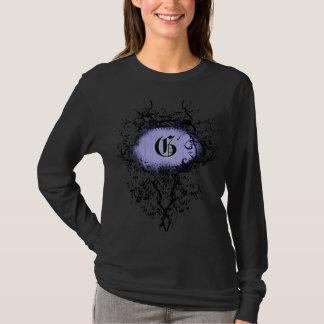 Vintages Muster mit Monogramm-Buchstaben G T-Shirt