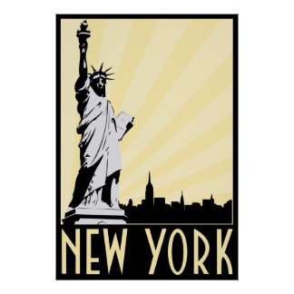 Vintages New York City Poster