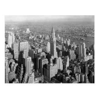 Vintages New York City Postkarte