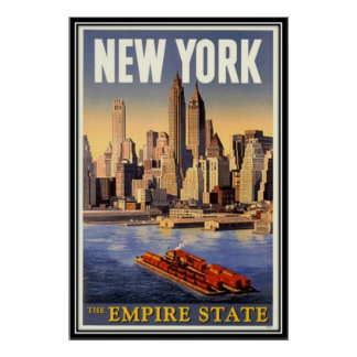 Vintages New York City USA - Plakate