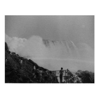 Vintages Niagara Falls Postkarte