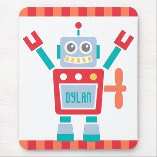 Vintages niedliches Roboter-Spielzeug für Kinder Mousepad