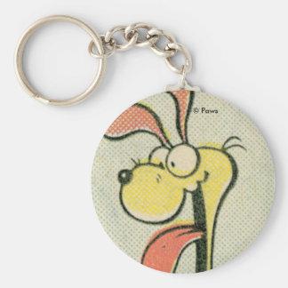 Vintages Odie keychain Schlüsselanhänger