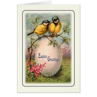 Vintages Ostern Grußkarte