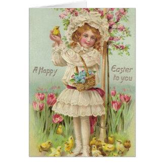 Vintages Ostern Karte