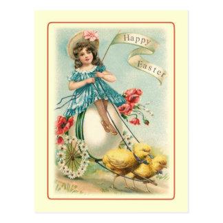 Vintages Ostern Postkarte