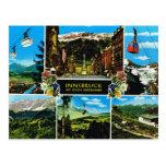 Vintages Österreich, Innsbruck Multiview Postkarten