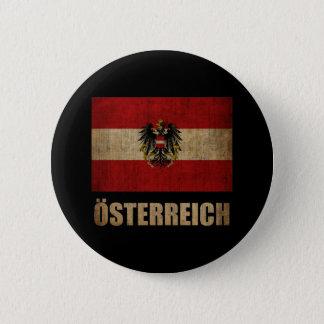 Vintages Österreich Runder Button 5,1 Cm