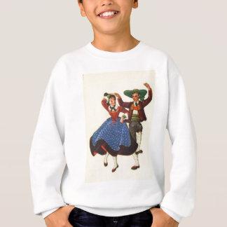 Vintages Österreich, Tiroler Tänzer Sweatshirt