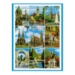 Vintages Österreich, Wien, Wien, Multiview Postkarten