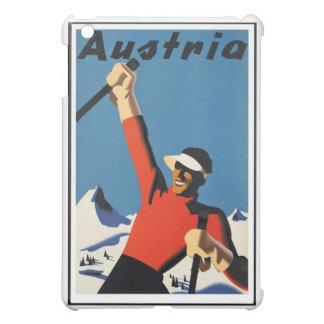 Vintages österreichisches Reise-Plakat iPad Mini Hülle