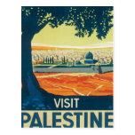 Vintages Palästina Mittlerer Osten Postkarte