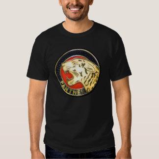 Vintages Panther-Motorrad-Abzeichen Tshirt