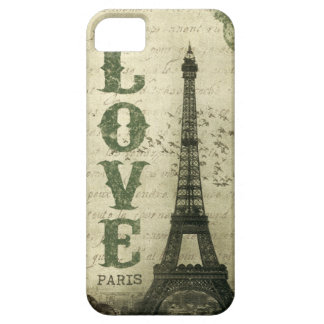 Vintages Paris iPhone 5 Etui