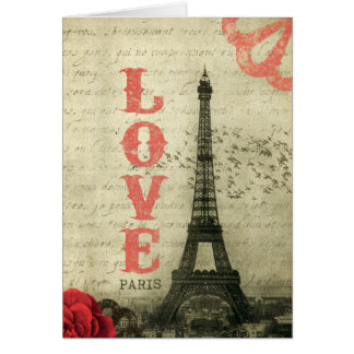 Vintages Paris Karte