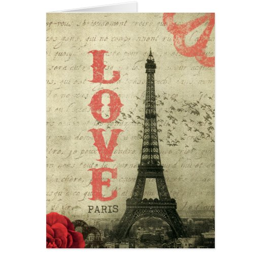 Vintages Paris Karten