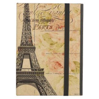 Vintages Paris scripts Shabby Chic Eiffel-Turm