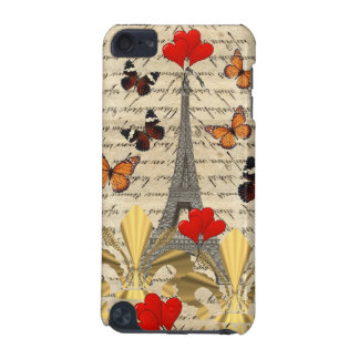 Vintages Paris u. Schmetterlinge iPod Touch 5G Hülle
