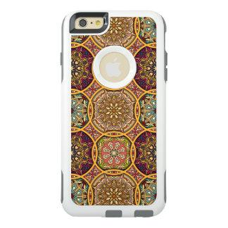 Vintages Patchwork mit Blumenmandalaelementen OtterBox iPhone 6/6s Plus Hülle