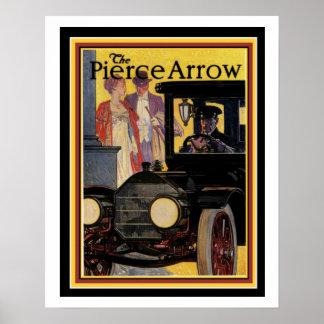 Vintages Pierce-Pfeil-Anzeigen-Plakat 16 x 20 Poster