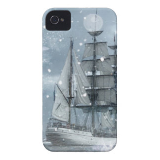 Vintages Piratenschiff des iPhone 4 Case-Mate Hüllen