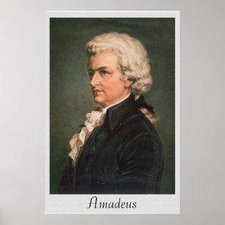 Vintages Plakat Amadeus Neuauflagen-6 x 24