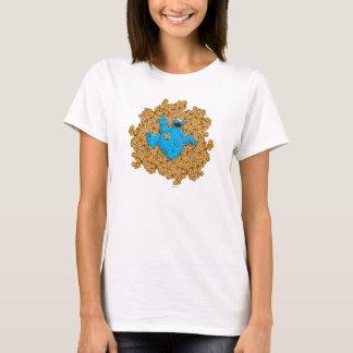 Vintages Plätzchen-Monster und Plätzchen T-Shirt