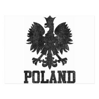 Vintages Polen Postkarte