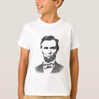Vintages Porträt Abraham Lincoln T-Shirt