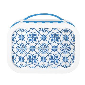 Vintages Portugiese Azulejo Fliesen-Muster Brotdose