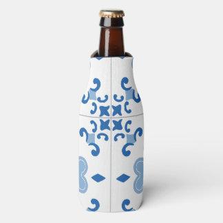Vintages Portugiese Azulejo Fliesen-Muster Flaschenkühler