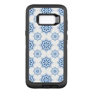 Vintages Portugiese Azulejo Fliesen-Muster OtterBox Defender Samsung Galaxy S8+ Hülle