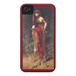 Vintages Pre-RaphaeliteBlackBerry-mutiger Kasten iPhone 4 Cover