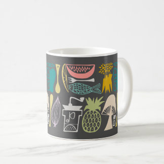 Vintages Pyrex Muster - Mod-Küche (Fünfzigerjahre Kaffeetasse