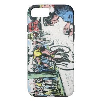 Vintages Radfahren iPhone 8/7 Hülle