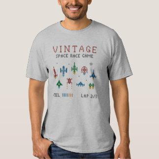 Vintages Raum-Rennen T-shirt