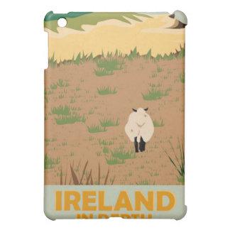 Vintages Reise-Plakat Besuchs-Irlands iPad Mini Hülle