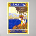 Vintages Reise-Plakat Jamaika