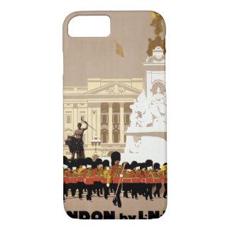 Vintages Reise-Plakat Londons wieder hergestellt iPhone 8/7 Hülle