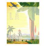 Vintages Reise-Plakat, Los Angeles, Kalifornien Personalisierte Flyer