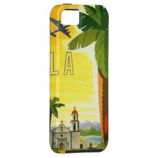Vintages Reise-Plakat, Los Angeles, Kalifornien iPhone 5 Etui