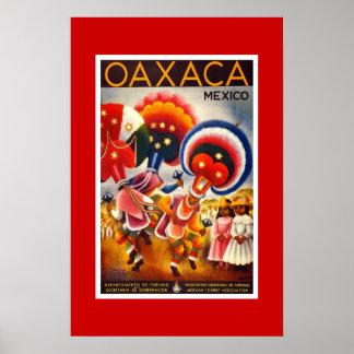 Vintages Reise-Plakat Mexiko 2