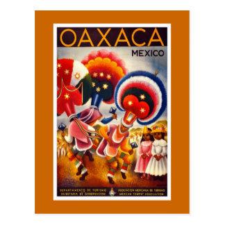"""Vintages Reise-Plakat """"Mexikos"""" Postkarte"""