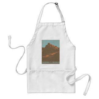 Vintages Reise-Plakat, Taos, New-Mexiko Schürze